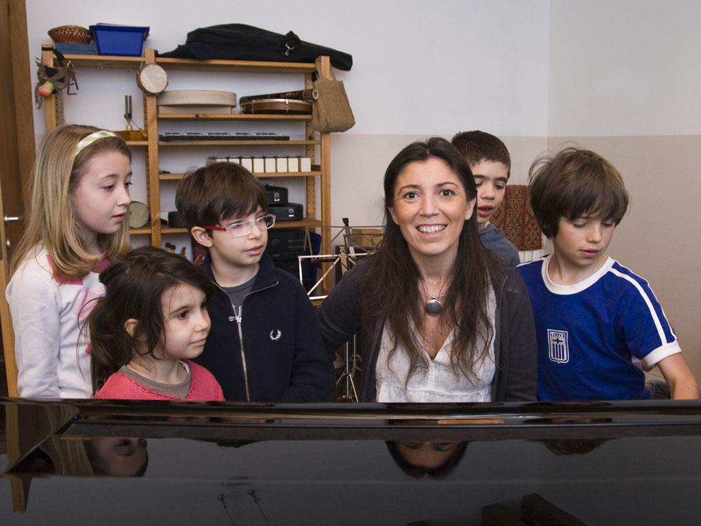 L'insegnante Laura Lobetti-Bodoni
