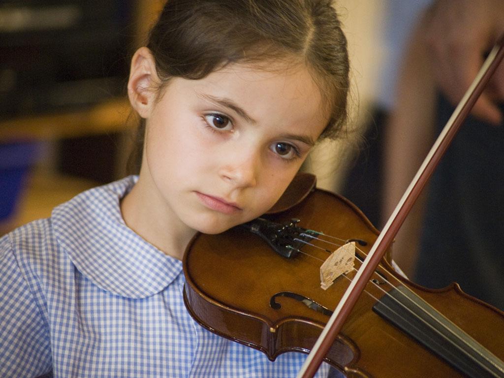 Lezione di violino
